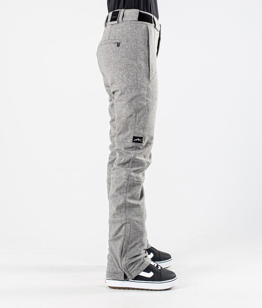 Dope Con Snowboardhose Damen Grey Melange