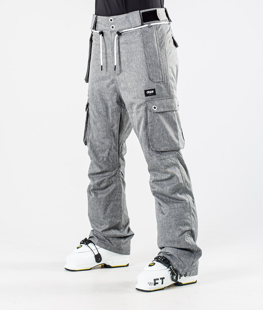 Dope Iconic W Skibroek Grey Melange