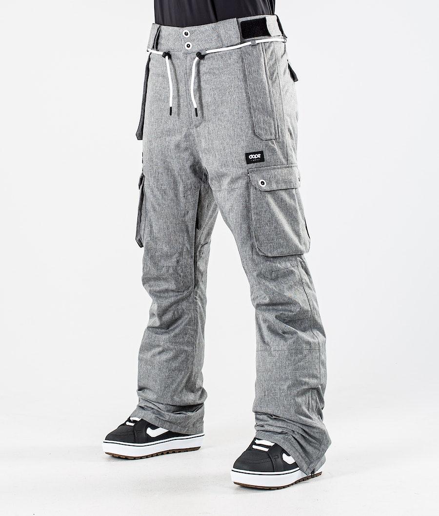Dope Iconic W Snowboard Pants Grey Melange