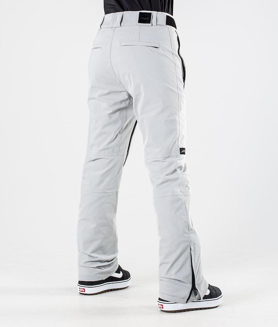 Dope Con Women's Snowboard Pants Light grey
