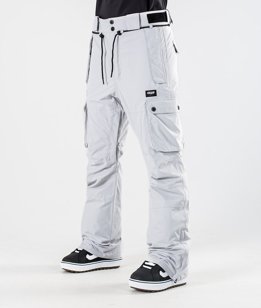 Dope Iconic W Pantalon de Snowboard Light Grey