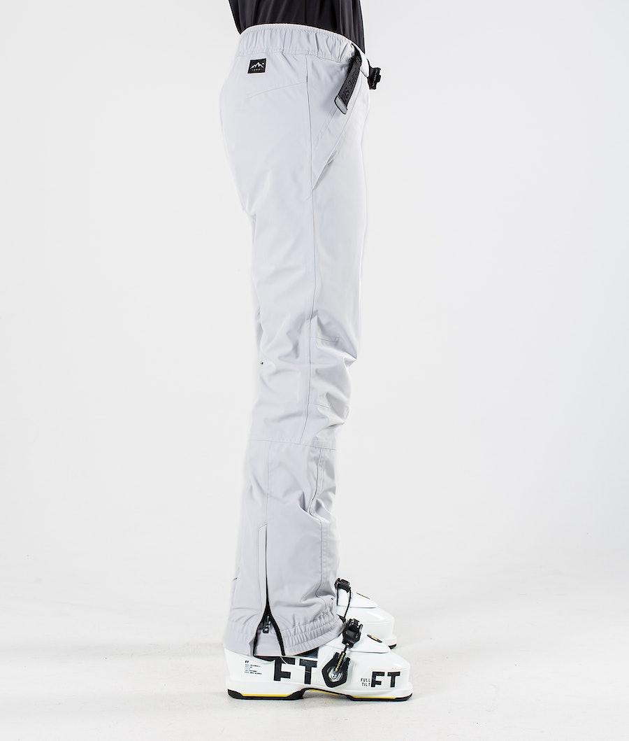 Dope Blizzard W Pantaloni da Sci Donna Light Grey