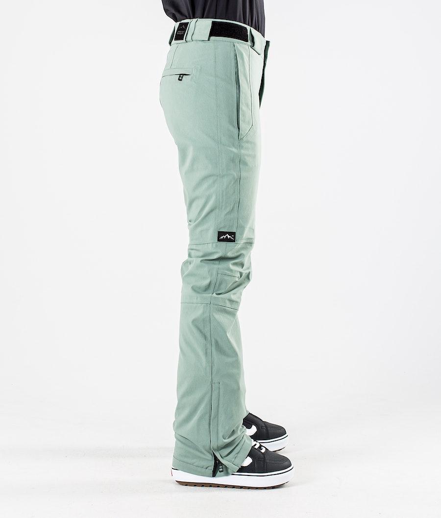 Dope Con Women's Snowboard Pants Faded Green