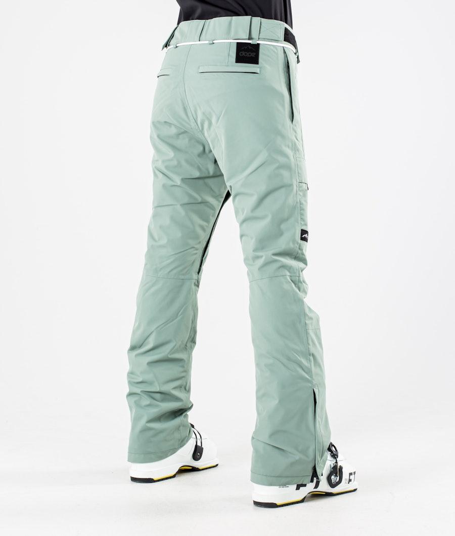 Dope Grace Pantaloni da Sci Donna Faded Green