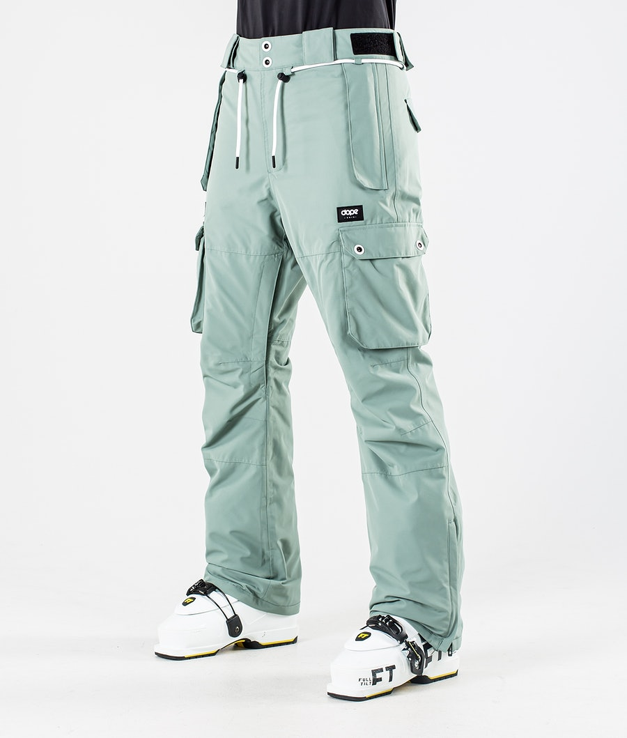 Dope Iconic W Skibroek Faded Green