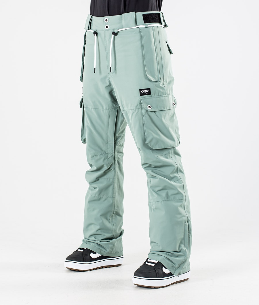 Dope Iconic W Snowboard Broek Faded Green