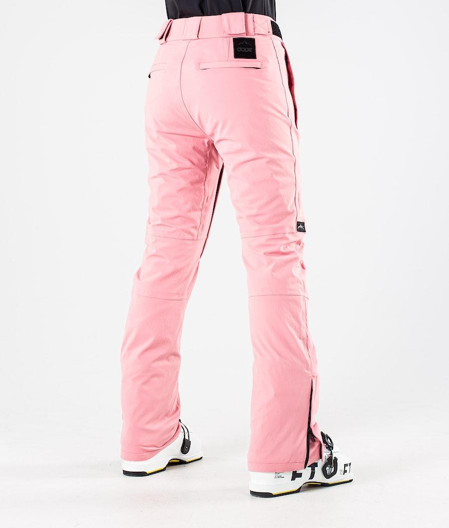 Dope Con Women's Ski Pants Pink