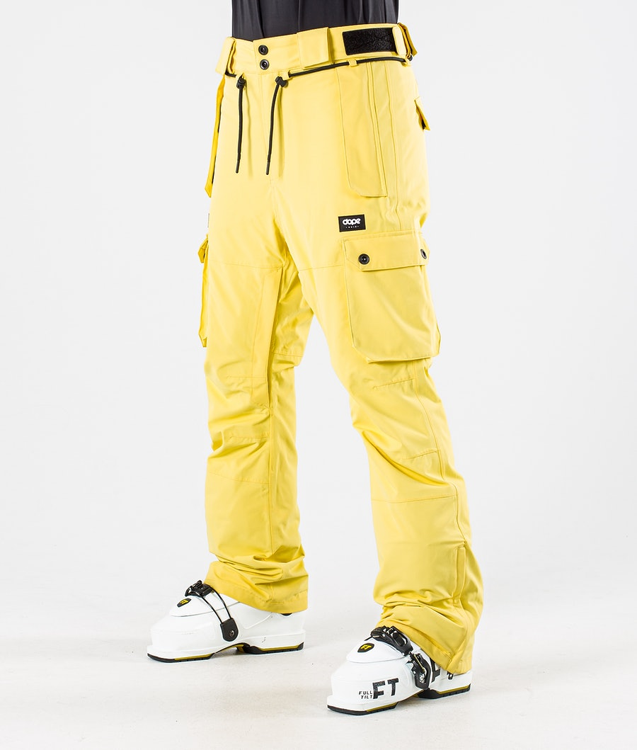 Dope Iconic W Skibroek Faded Yellow