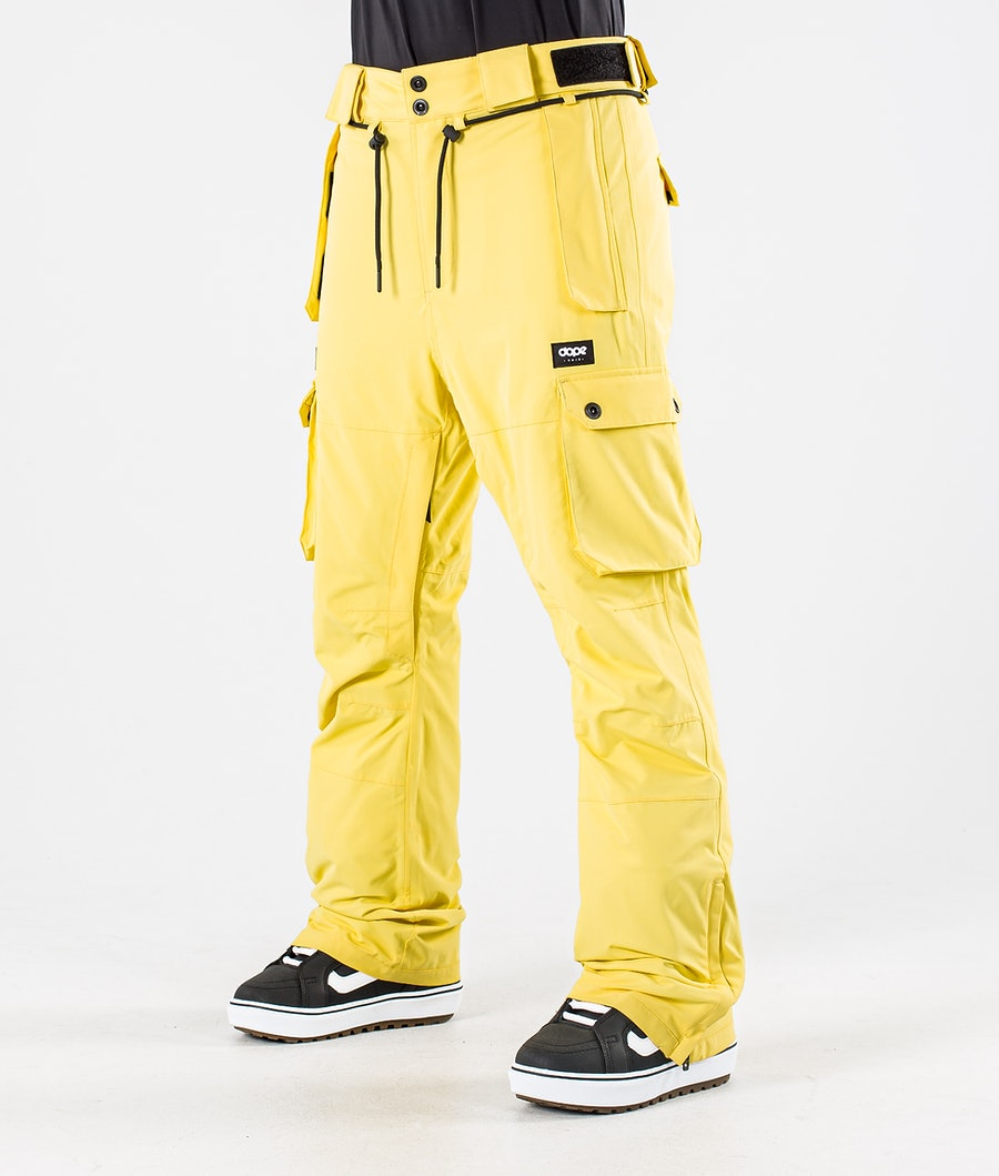 Dope Iconic W Pantalon de Snowboard Faded Yellow
