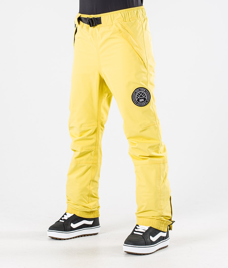 Dope Blizzard W Pantaloni da Snowboard Faded Yellow