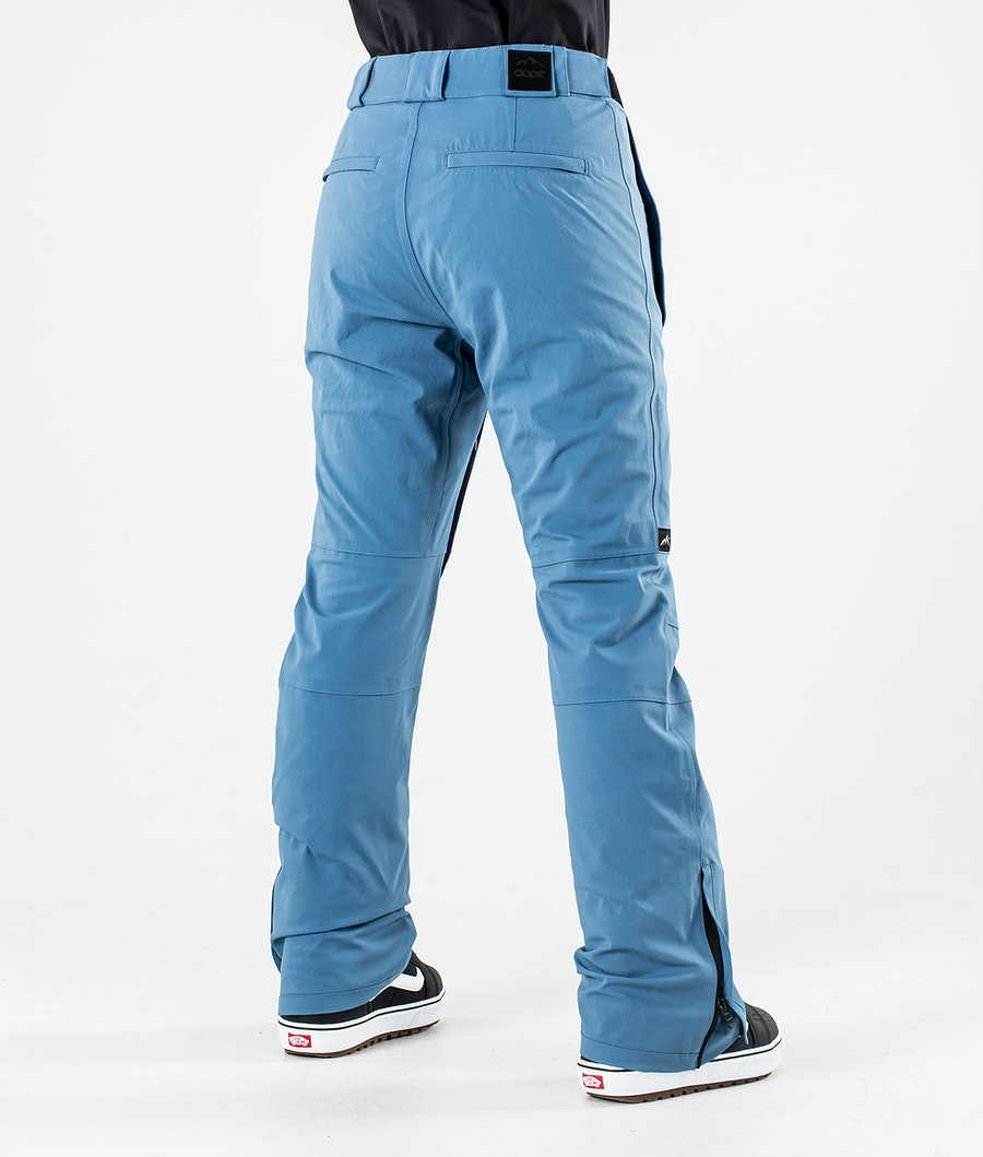 Dope Con Women's Snowboard Pants Blue steel