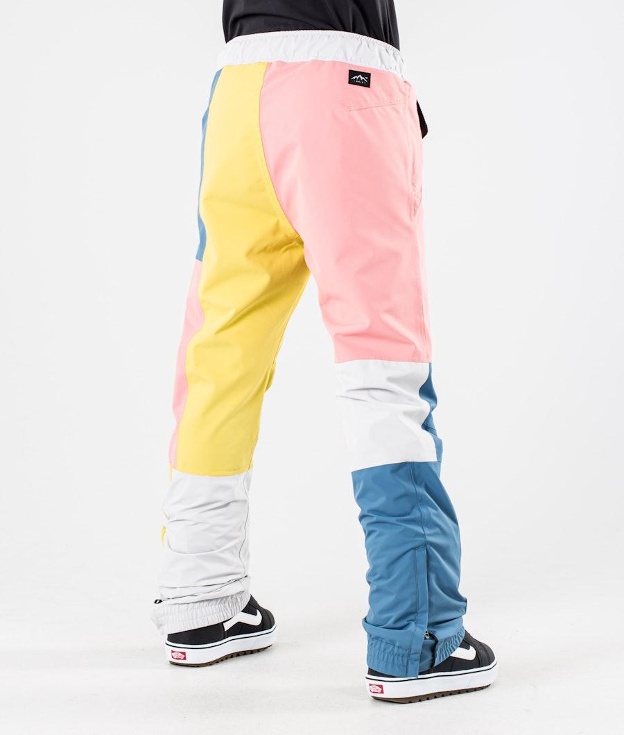 Dope Blizzard LE W Women's Snowboard Pants Pink Patchwork