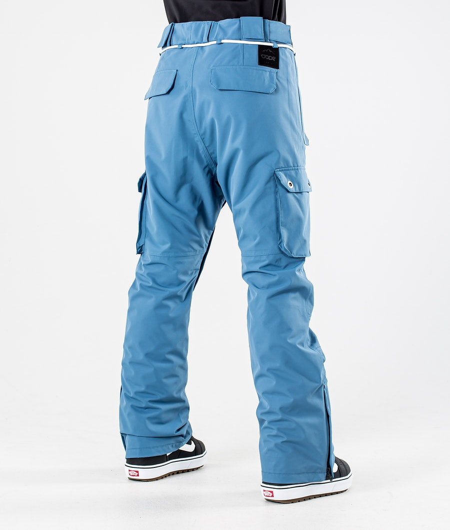Dope Iconic W Pantaloni da Snowboard Donna Blue Steel