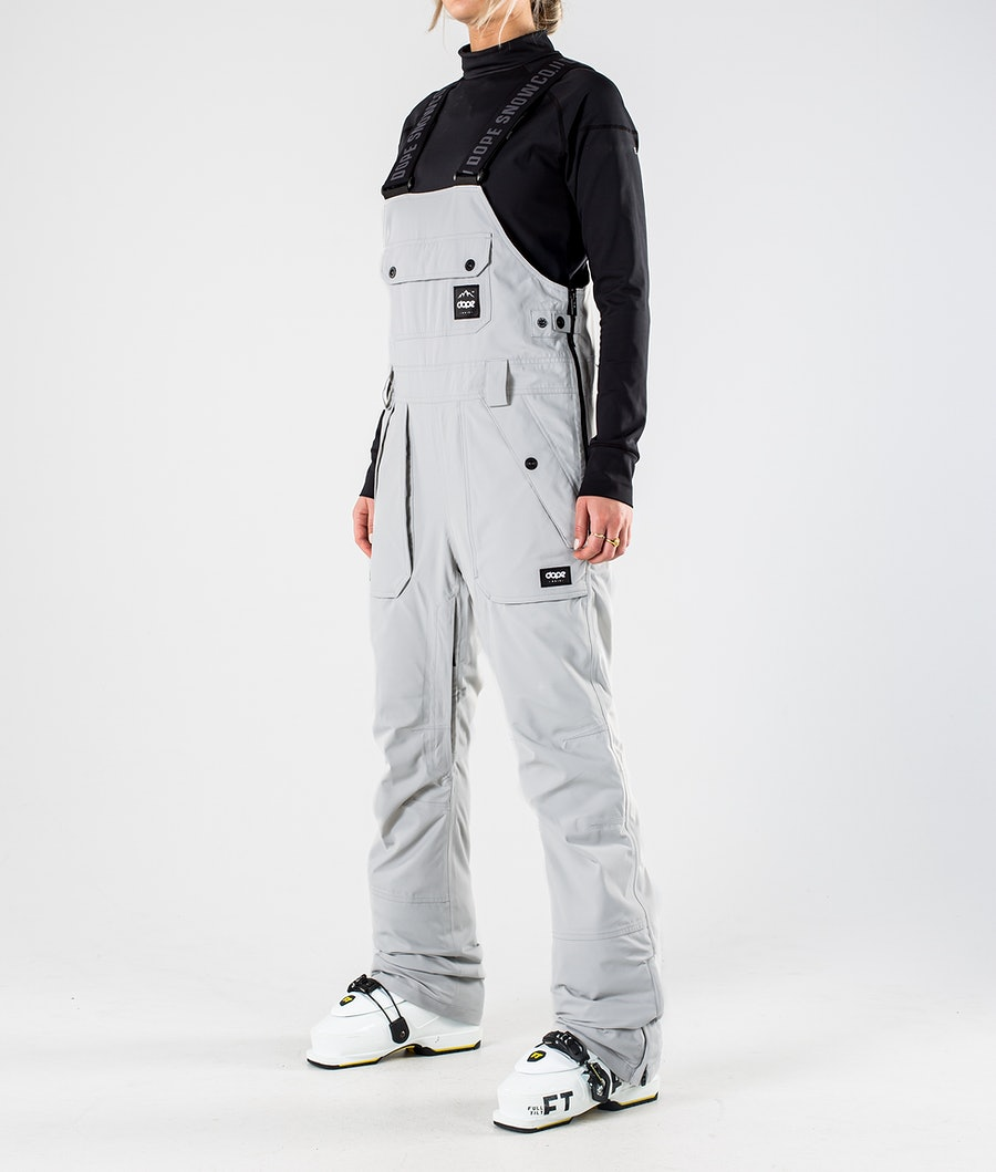 Dope Notorious B.I.B W Ski Pants Light grey