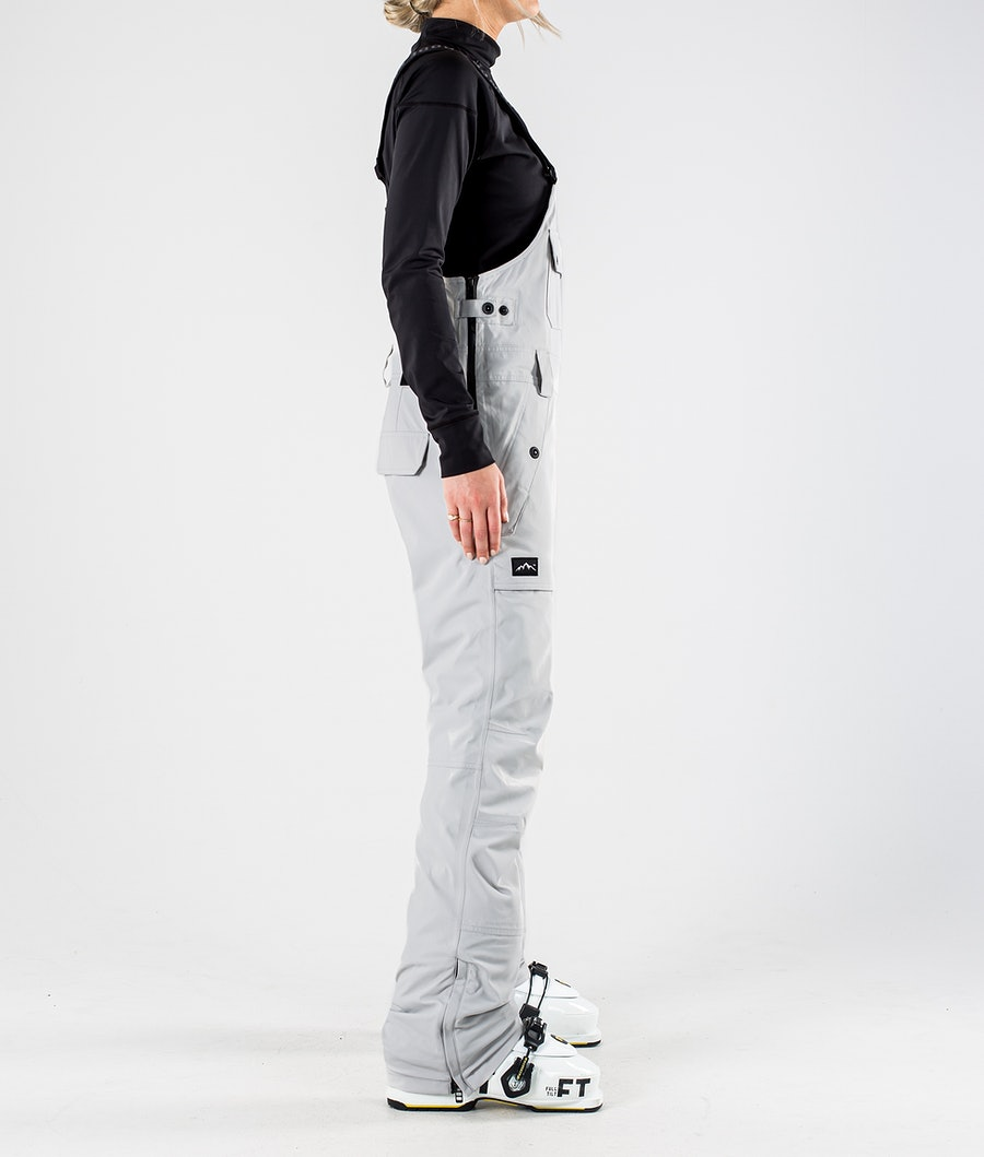 Dope Notorious B.I.B W Pantaloni da Sci Donna Light grey