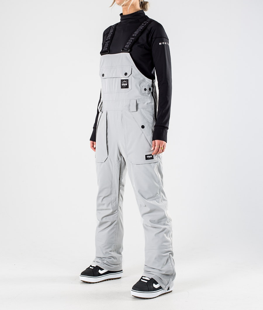 Dope Notorious B.I.B W Snowboard Broek Light grey