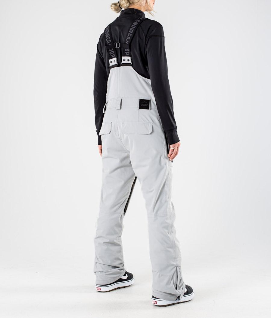 Dope Notorious B.I.B W Snowboardhose Damen Light grey