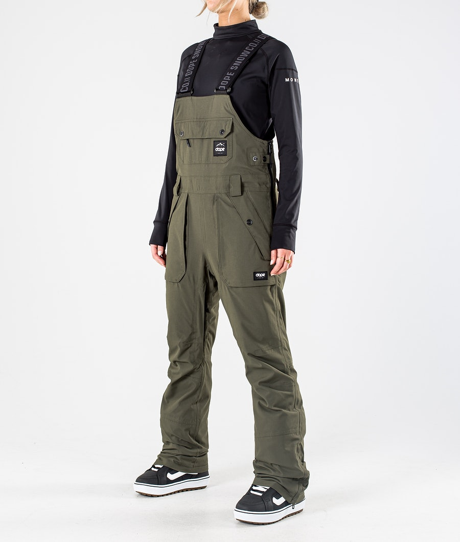 Dope Notorious B.I.B W Pantaloni da Snowboard Olive Green