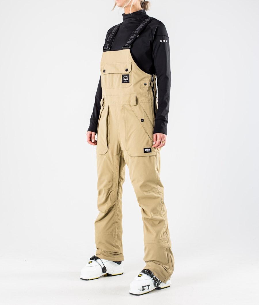 Dope Notorious B.I.B W Pantalon de Ski Khaki