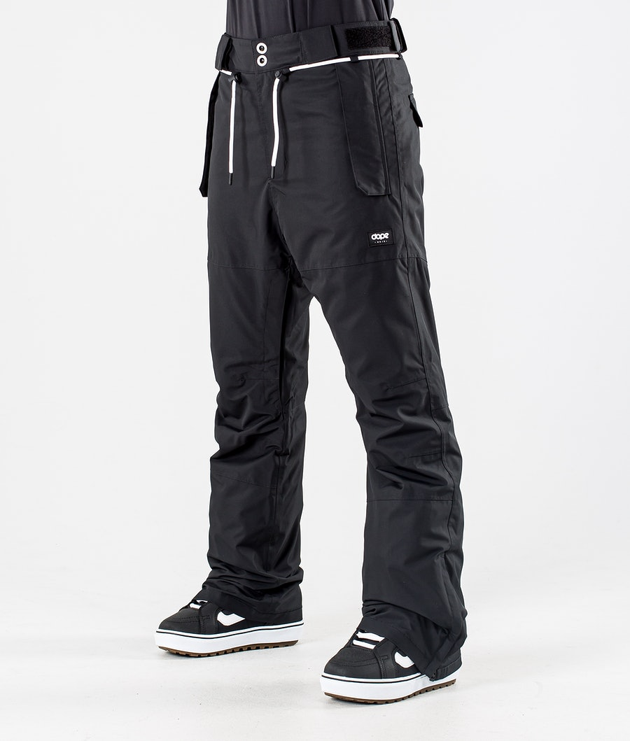 Dope Classic W Pantaloni da Snowboard Black