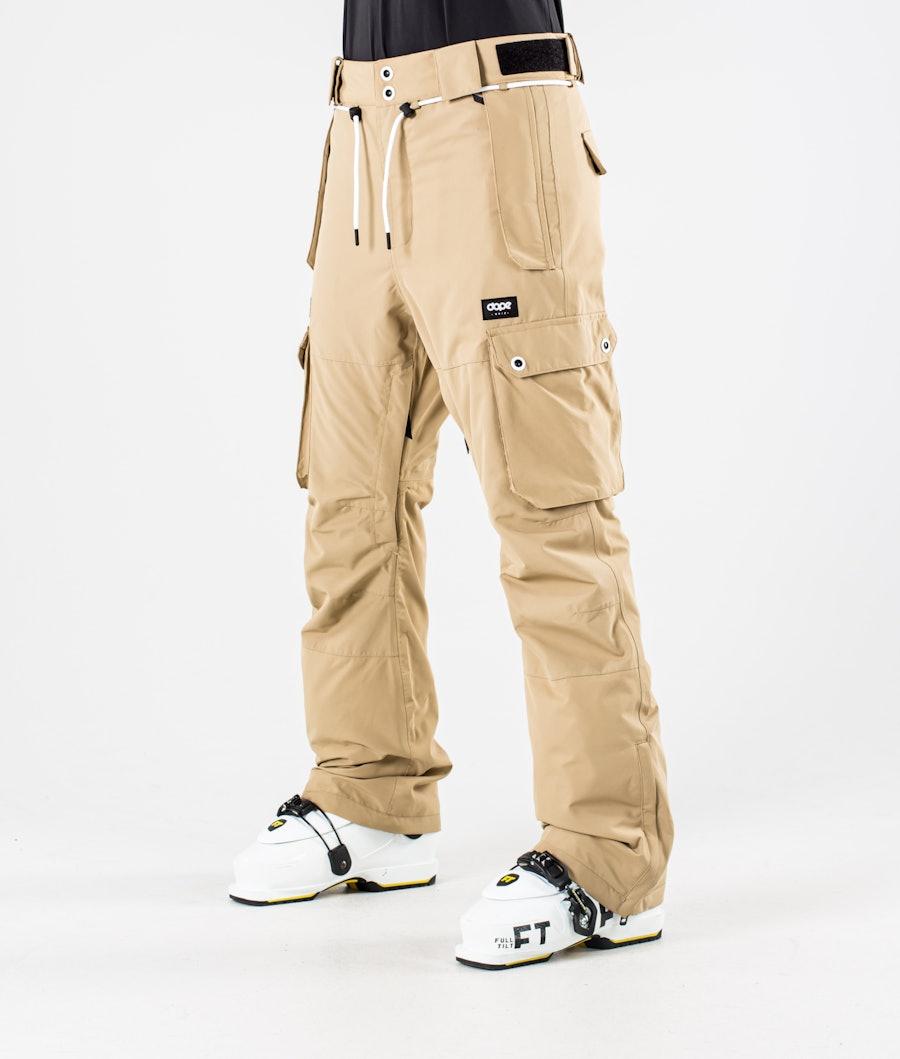 Dope Iconic W Pantalon de Ski Khaki