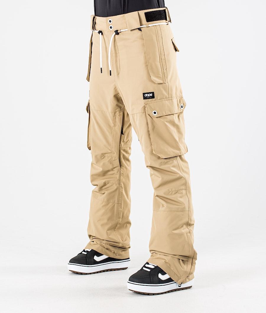 Dope Iconic W Snowboard Pants Khaki