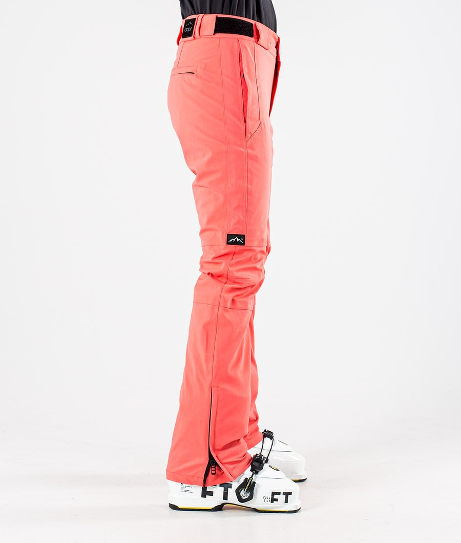 Dope Con Pantalon de Ski Femme Coral
