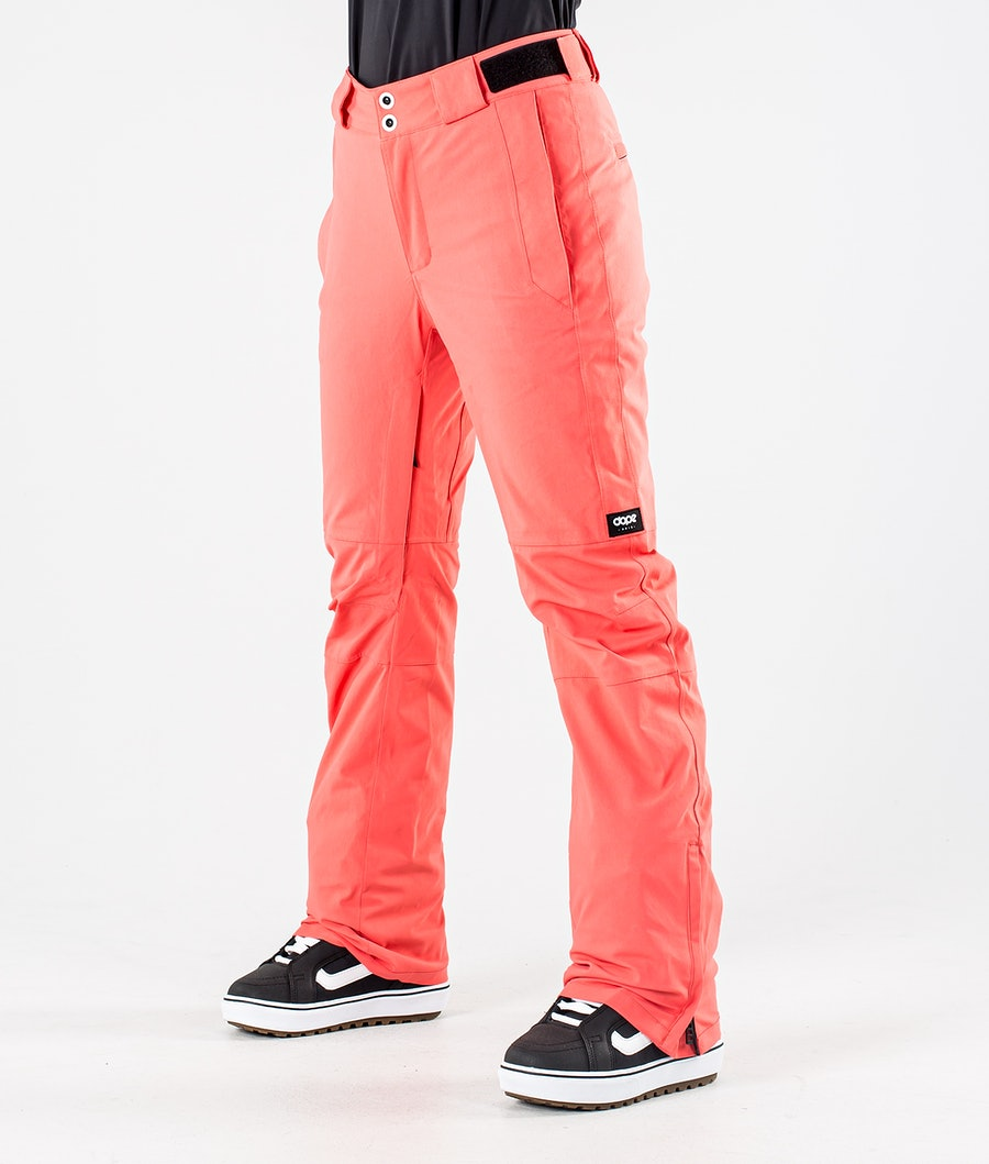 Dope Con Snowboard Pants Coral
