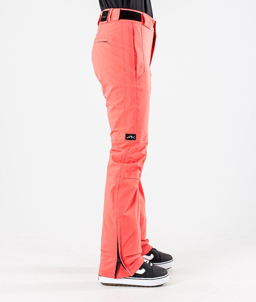 Dope Con Pantaloni da Snowboard Donna Coral