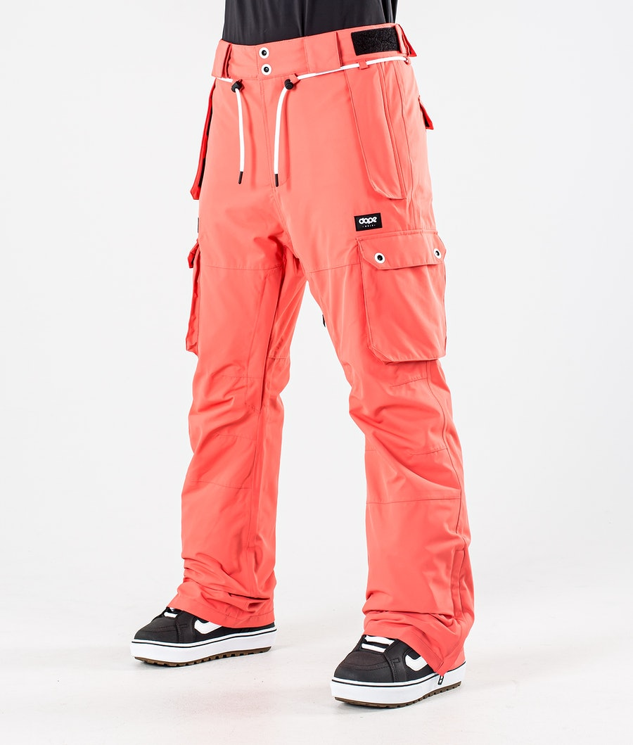 Dope Iconic W Snowboard Broek Coral