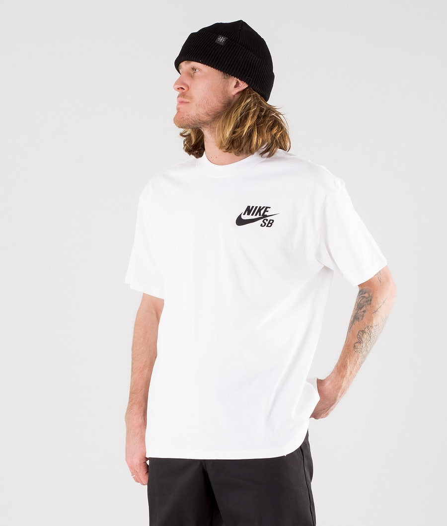 Nike SB Logo T-shirt White/Black