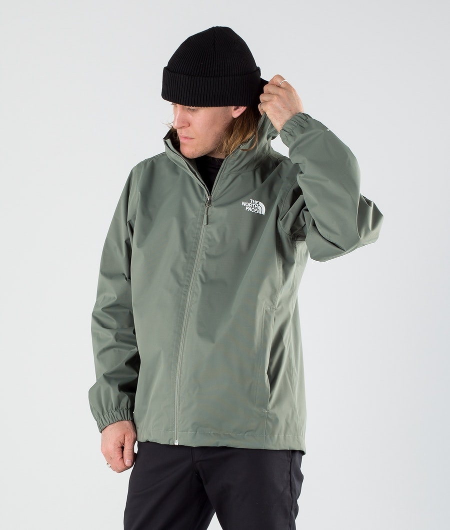 The North Face Quest Giacca Outdoor Agave Green Black Heather