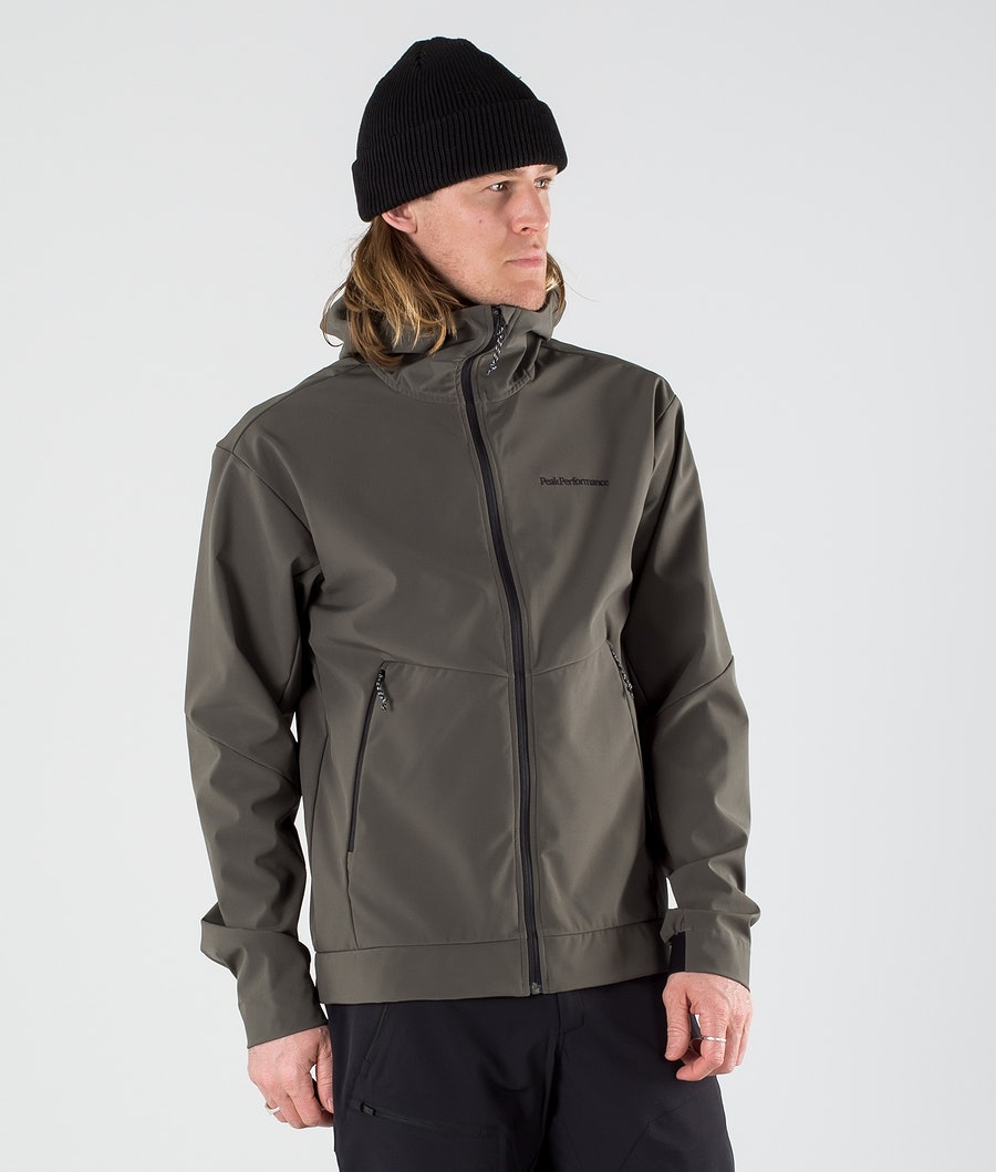 Peak Performance Adventure Giacca Outdoor Black Olive