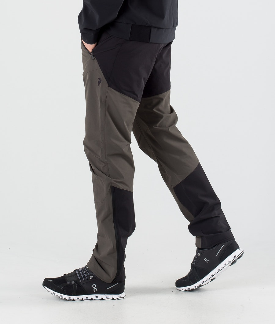 Peak Performance Light SS Carbon Outdoor Trousers Black Olive