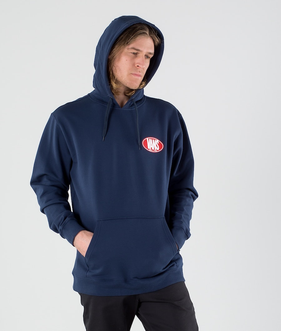 Vans Retro Oval Sweats à capuche Dress Blues