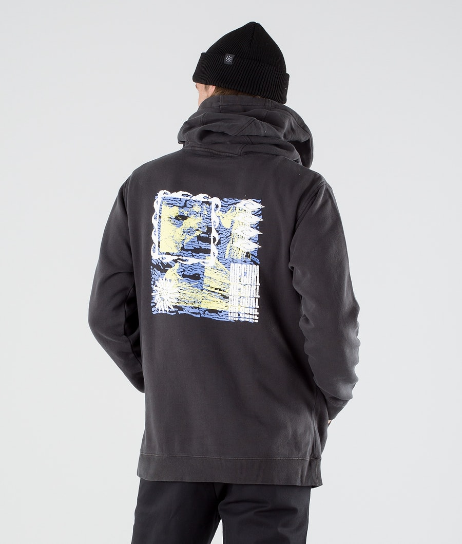 Rip Curl Mind Waves Hoodie Washed Black