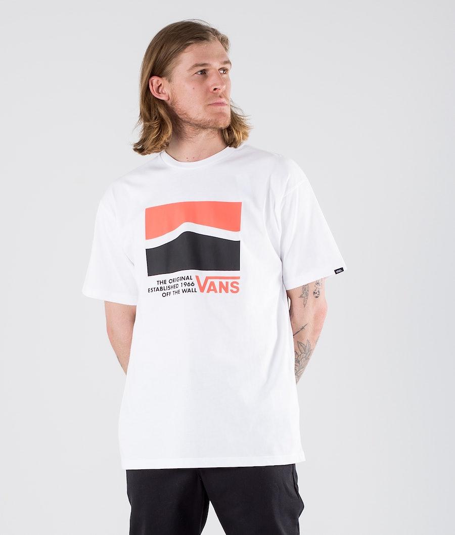 Vans Original DNA Sidestripe T-shirt White