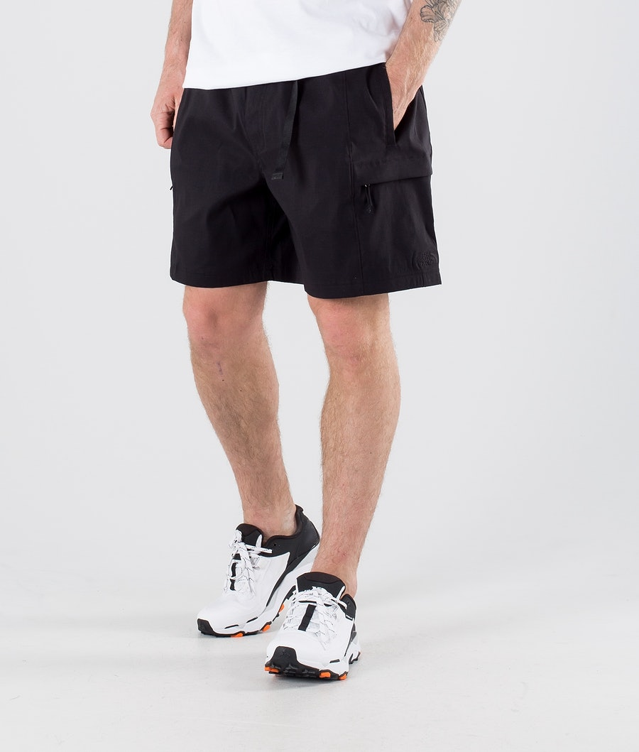 The North Face Class V Belted Shorts Tnf Black/Citronelle Green