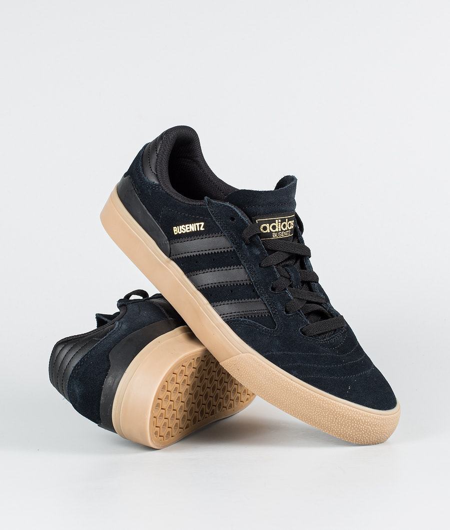 Adidas Skateboarding Busenitz Vulc II Kengät Core Black/Core Black/Gum 4