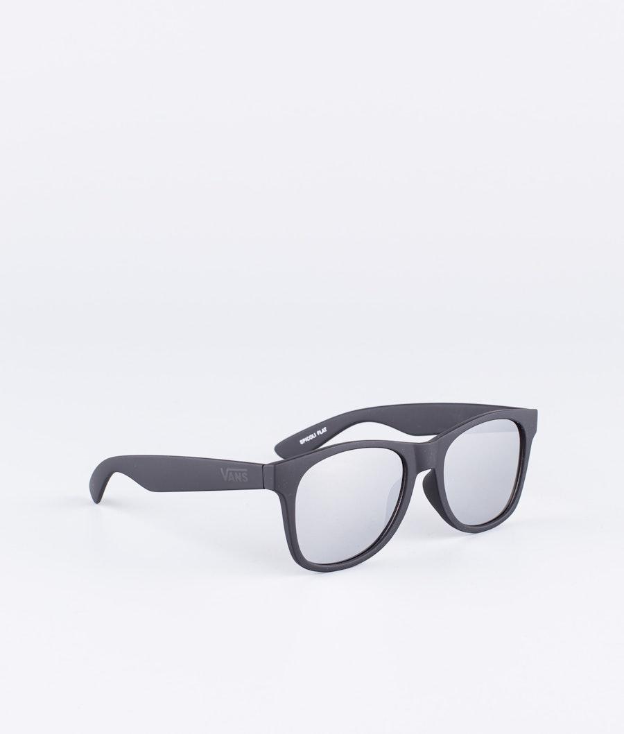 Vans Spicoli Flat Shades Solglasögon Black/Silver Mirror
