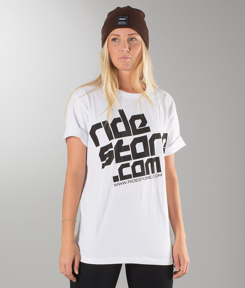 Ridestore Ridestore Unisex T-shirt White