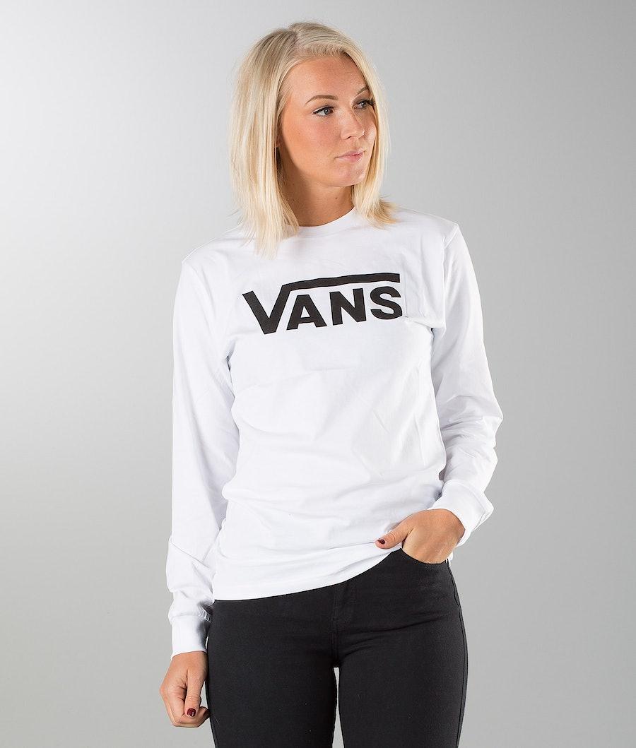 Vans Vans Classic Unisex Longsleeve Dam White/Black