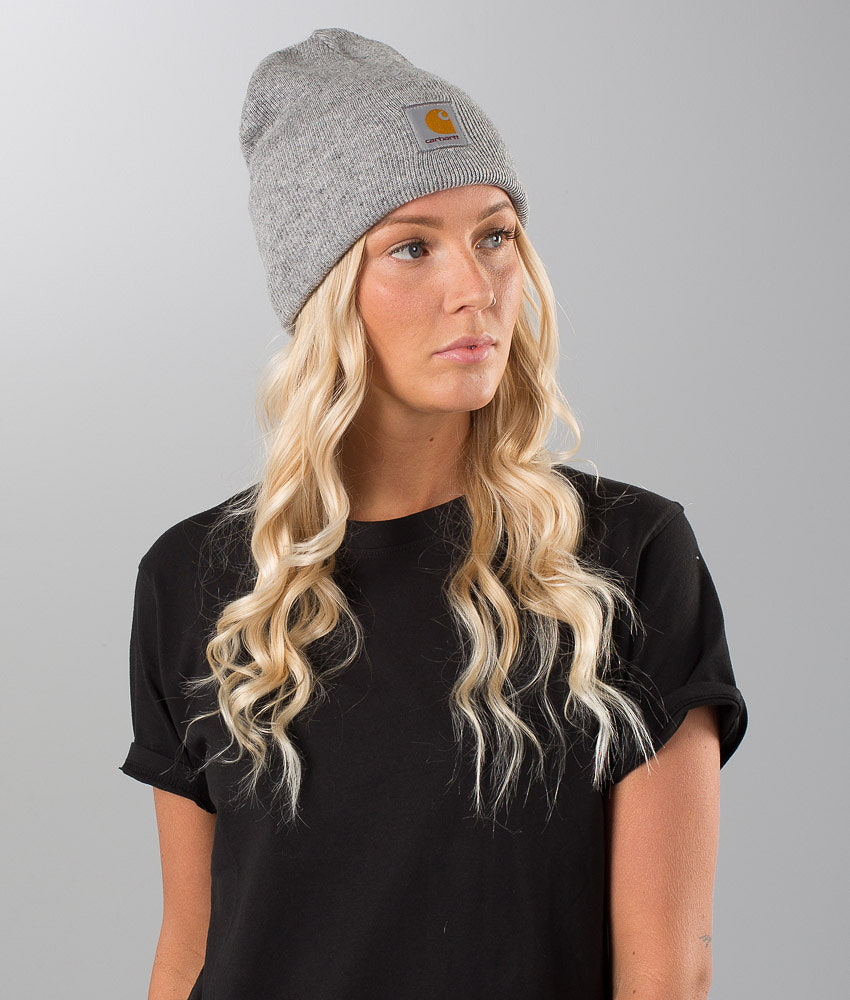 432a75d8c22 Carhartt Acrylic Watch Beanie Grey Heather - Ridestore.com