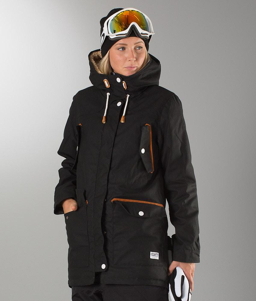 9056996859 WearColour Range Parka Unisex Snowboard Jacket Black - Ridestore.com