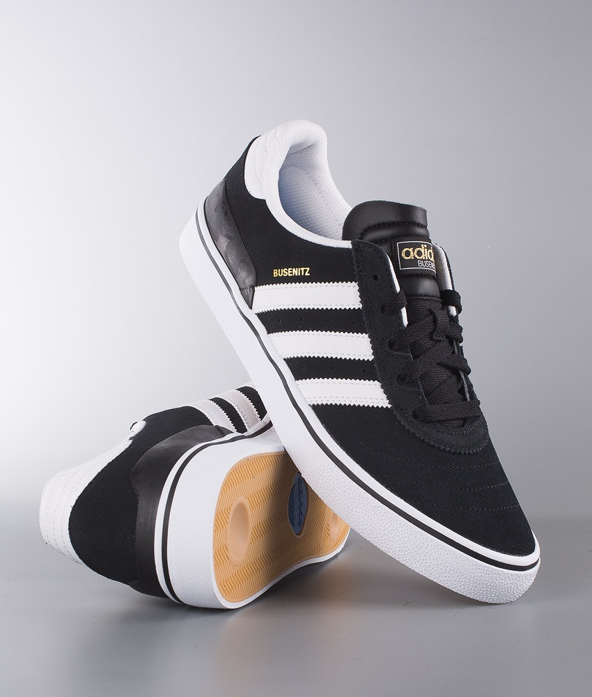 Adidas Skateboarding Busenitz Vulc Unisex Skor Black/Runwht/Black