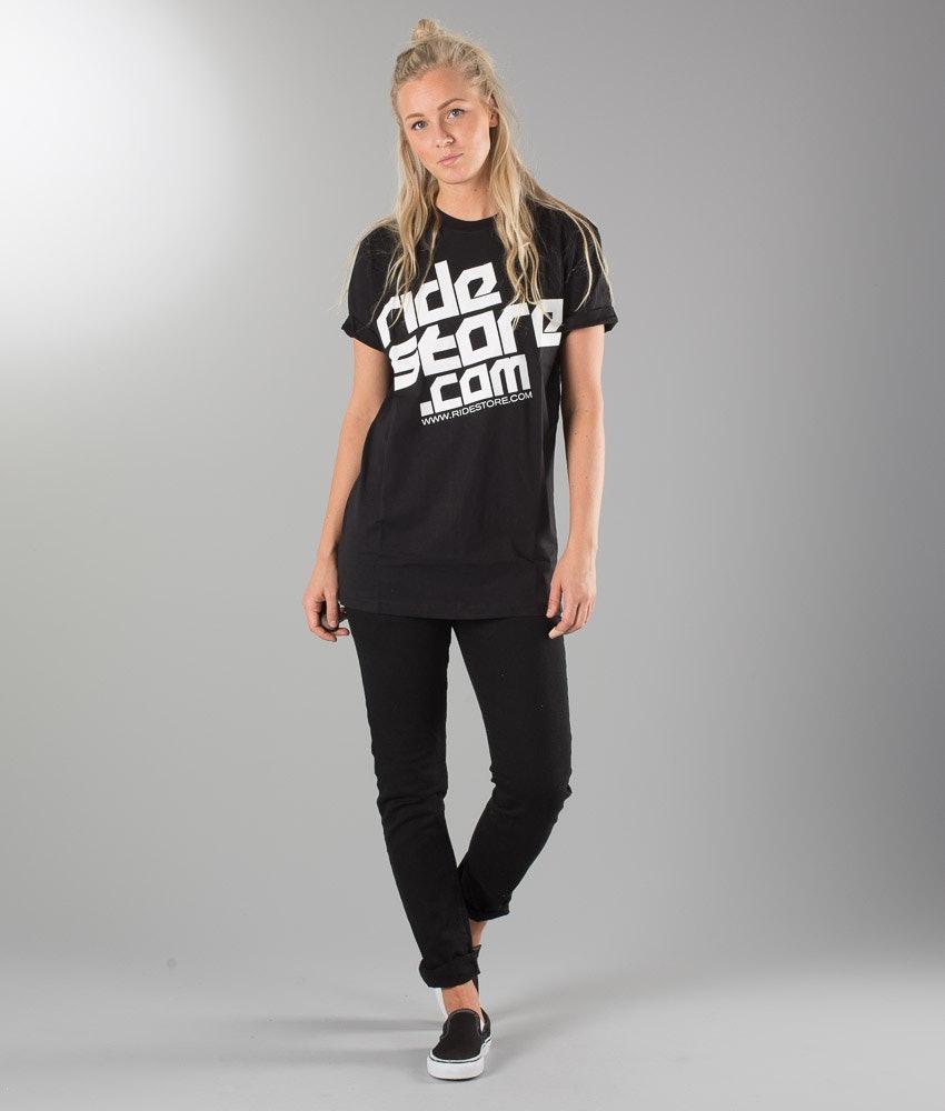Ridestore Ridestore Trinity Unisex T-shirt Dame Black