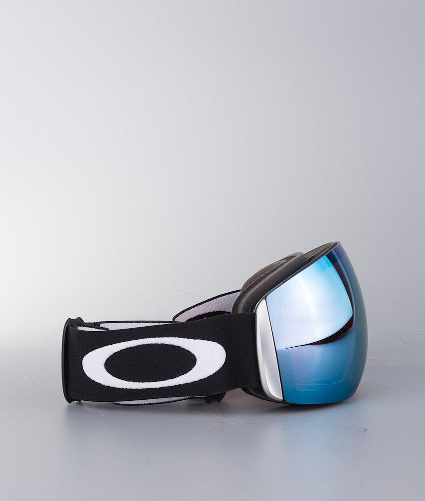 Oakley Flight Deck Unisex Maschera Sci Donna Matte Black W/Prizm Sapphire