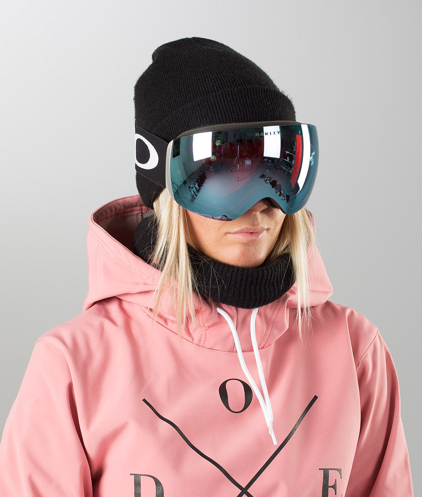 386aa812132a Oakley Flight Deck Unisex Ski Goggle Matte Black W Prizm Sapphire ...