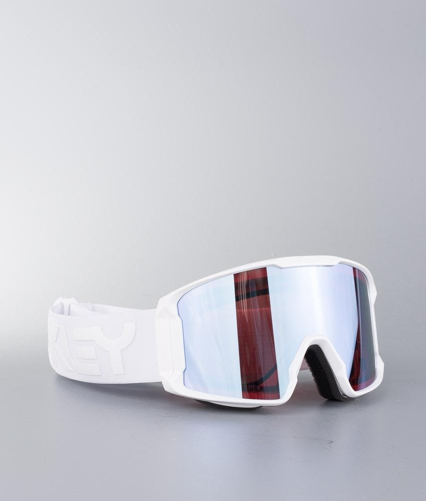 Oakley Line Miner Skibriller Factory Pilot Whiteout W/ Prizm Sapphire Iridium
