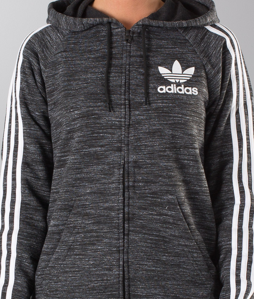 Adidas Originals Clfn Ft Fz Unisex Huppari Black